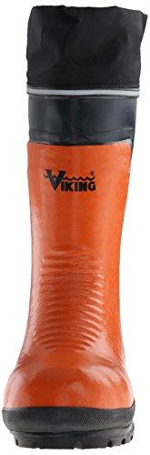 Viking-schoenen Bushwacker Waterdichte Stalen Neuslaars Oranje / Marine