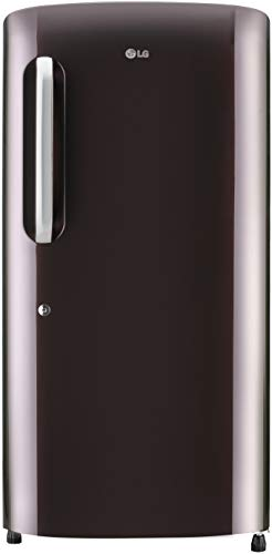 LG 215 L 5 Star Inverter Direct-Cool Single Door Refrigerator (GL-B221ARSZ, Russet Sheen)