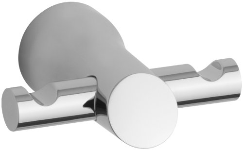 KOHLER K-5670-CP Toobi Double Robe Hook, Polished Chrome