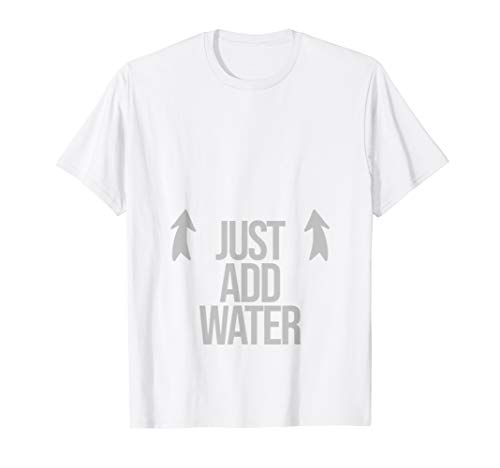 Just Add Water Wet Tshirt Contest Shirts Women Party Gifts ()