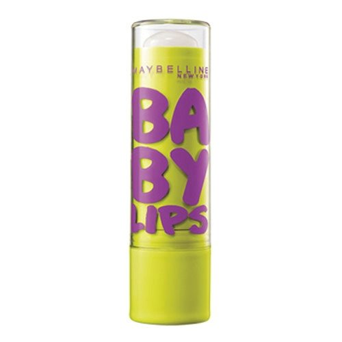 Maybelline Baby Lips Moisturizing Lip Balm SPF 20, Peppermint 0.15 oz (Pack of 2)