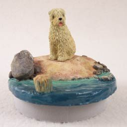 Conversation Concepts Miniature Soft Coated Wheaten Terrier Candle Topper Tiny One