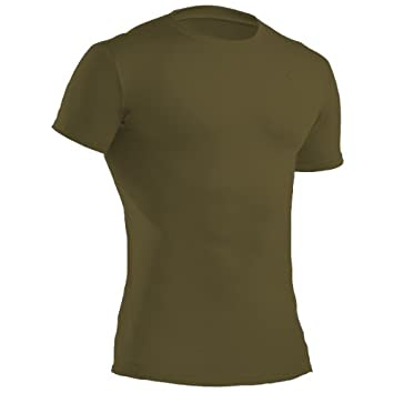 f5126cea1956 Under Armour UA1216007O-S Tactical T-shirt HeatGear Compression, olivgrün, S