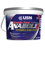 (2 Pack) - USN - Muscle Fuel Anabolic Strawberr   4000g   2 PACK BUNDLE