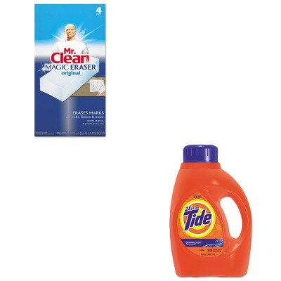 KITPAG13878CTPAG82027 - Value Kit - Procter amp; Gamble Professional Ultra Liquid Tide Laundry Detergent (PAG13878CT) and Mr. Clean Magic Eraser Foam Pad (PAG82027)