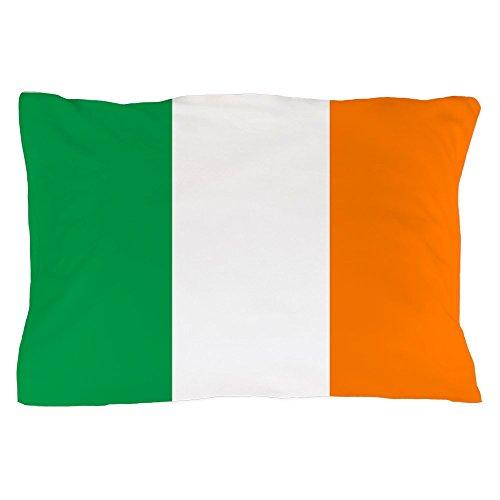 CafePress Flag of Ireland Standard Size Pillow Case, 20