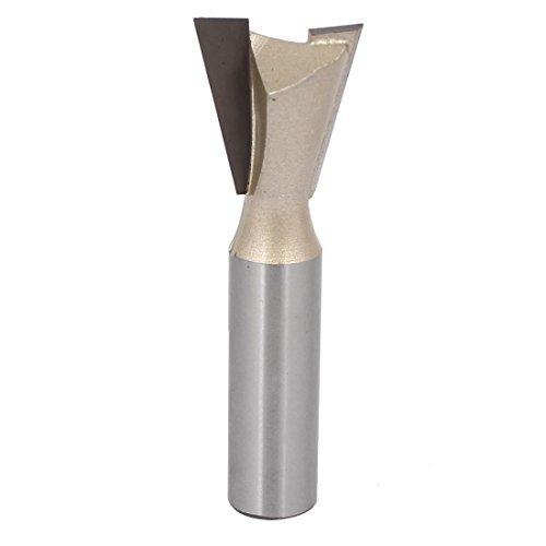 DealMux Shank redondo de 1/2 polegadas 8/7 polegadas de corte Dimetro para tratar madeira Dovetail fresa