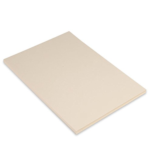 Canson Iris Vivaldi A4 185 GSM Smooth Colour Paper - Cream (Pack of 50 Sheets)