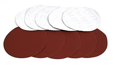 ALEKO® 10 Pieces 240 Grit Sanding Discs Sander Paper for Drywall Sander by ALEKO