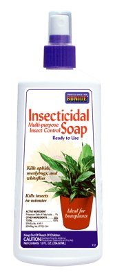 Bonide Products 112 Houseplant Insecticidal Soap, 12-oz. - Quantity - Bonide Soap Insecticidal Products