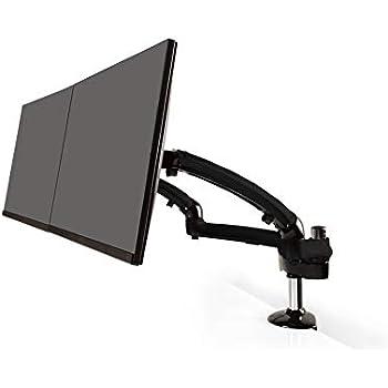 Amazon Com Ergotech Monitor Desk Mount Dual Articulating
