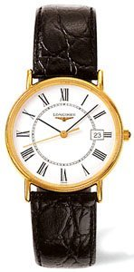 Longines Men's LNG47202112 La Grande Classique Presence White Dial Watch