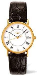 - Longines Men's LNG47202112 La Grande Classique Presence White Dial Watch