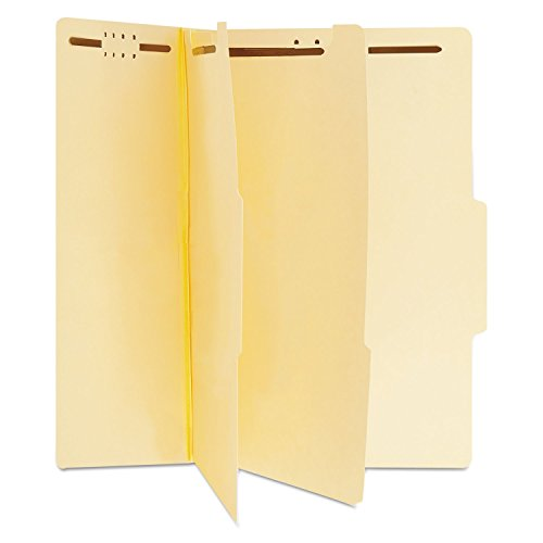 Universal 10300 Manila Classification Folders, Letter, Six-Section (Box of 15) Letter Six Section