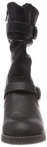 Jane Klain Damen 266 337 Biker Boots Schwarz (Black)