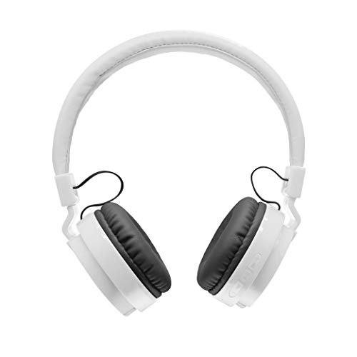 2Boom Bluetooth On-Ear Headphones, Wireless Headset with Built-in Microphone, Wired Mode with Audio Input, Foldable, Portable, for Kids and Adults