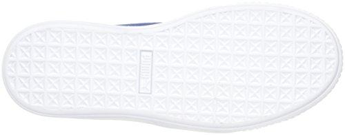 PUMA Women's Suede Platform core Fashion Sneaker Peacoat, 9.5 M US by PUMA (Image #3)