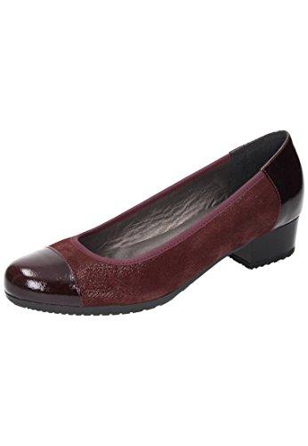 Damen 730377 2 Ballerinas Rosso Comfortabel Braun dR4xdp