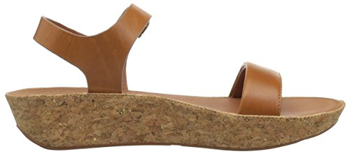 FitFlop Women's Bon II Back-Strap Sandals Medical Professional Shoe, Caramel, 9 M US by FitFlop (Image #7)
