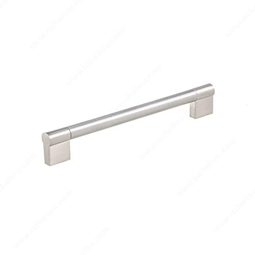 RICHELIEU HARDWARE - Contemporary Stainless Steel Pull - BP527192195 (192mm)