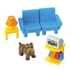 Fisher-Price My First Dollhouse TV Room, Baby & Kids Zone