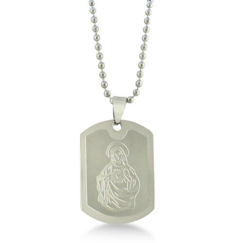 Stainless Steel Jesus Pendant
