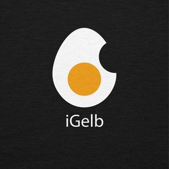 Texlab iGelb - Damen T-Shirt, Größe S, Schwarz