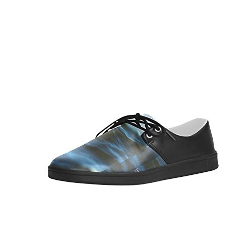 Interestprint Vintage Night Clouds Uomo Sneakers Fitness Running Oxford Scarpe