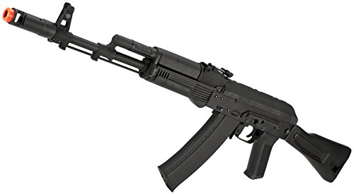 Evike CYMA Stamped Metal AK-74 w/Folding Synthetic Stock Airsoft AEG Rifle - (48517)
