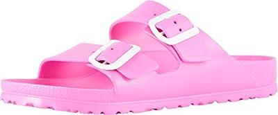 Birkenstock Essentials Unisex Arizona EVA Sandals Pink 40 N EU (US Women's 9-9.5)