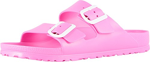 Birkenstock Women's Arizona EVA Sandals, Pink, 37 Narrow EU, 6-6.5 US