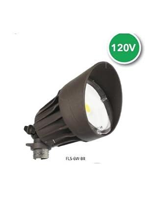 Westgate Lighting LED Outdoor Security Light - Bronze - Die-cast Aluminum Housing - High Lumen - Waterproof IP54-120V - 7 YR Warranty