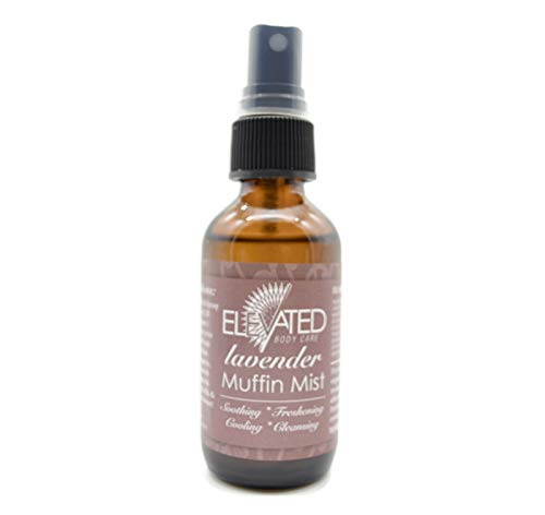 - Elevated (by Taylor's) Muffin Mist - All Natural Feminine Spray - Soothing, Freshening, Cooling - Made in USA! ... (Lavender)