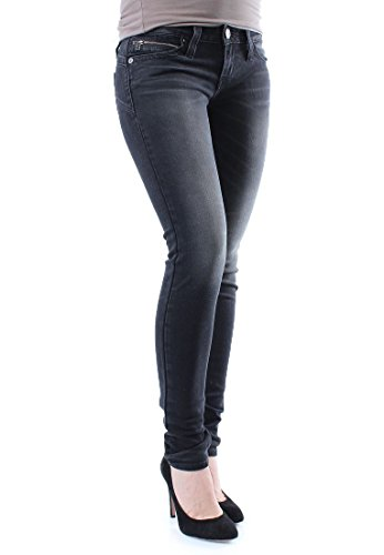 Jeans Low Nero Skinny Donna Dc Revel Levi's zOqp1T