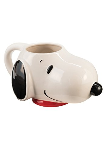 Peanuts Snoopy Sculpted Ceramic Mug 54722 (Snoopy Stuff)