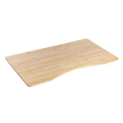 Seville Classics Ergo Table Top with Beveled, 54