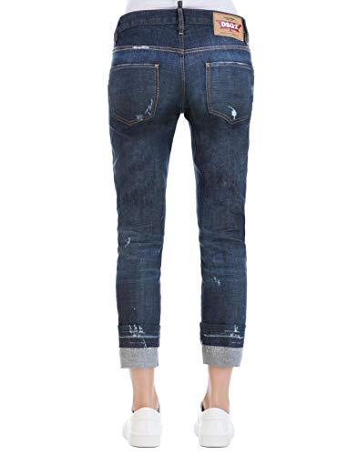 S75LB0030S30342470 Bleu Coton Dsquared2 Jeans Femme HR5qxfRS