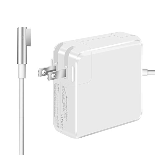Replacement Macbook Charger, 60W L-Tip Connector AC Power Adapter Charger for Macbook Air by LED (Image #1)