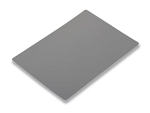 Novoflex 8x12'' Grey/White Card for Manual White Balance/Exposure (ZEBRA-XL) by Novoflex