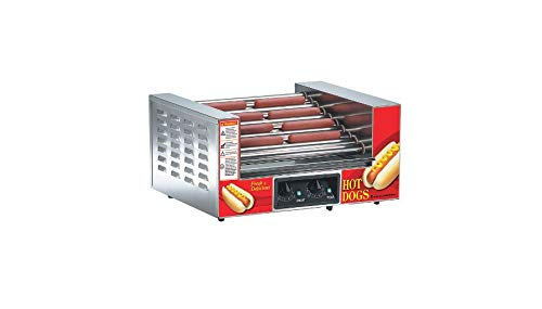California Concessions Corp Beach City Wholesalers Lil' Diggity Slanted Hot Dog Grill