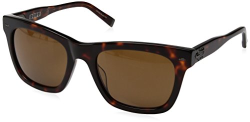 John Varvatos V510 Square Sunglasses, Tortoise UF, 21 - Men's Varvatos Sunglasses John