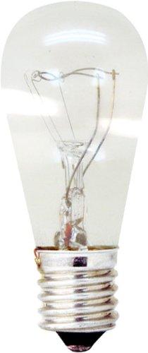 S6 Candelabra Screw (GE Lighting 11367  Appliance 6-watt, 41-Lumen S6 Light Bulb with Candelabra Base, 1-Pack)