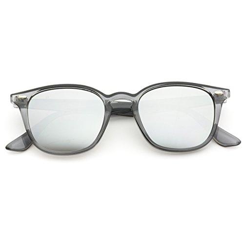 WearMe Pro - Mirrored Lens Square Rectangular Modern Sunglasses Men - Glasses Frames Boots