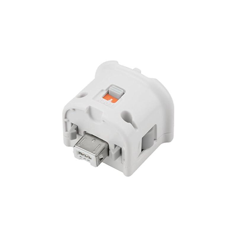REDGO Motion Plus Adapter Sensor for Nintendo Wii Wii U Remote Controller White