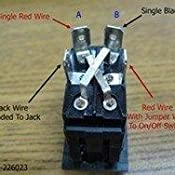 JR Products 13635 5th Wheel/Tongue Jack Switch on