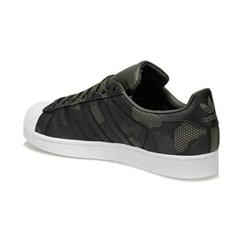 carnoc 2 Para 000 De 3 Adidas Eu ftwbla Gris 44 Hombre Superstar Zapatillas Deporte negbás q0WB7f