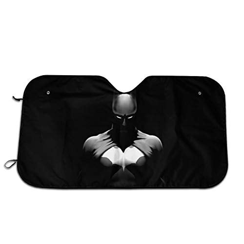 MaryTiTi Bat-Man Car Windshield Sun Shades Universal Fit 51.2
