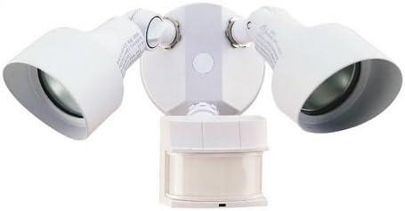 Chamberlain Dual Brite Motion Light, 200W, White HZ-5597-WH