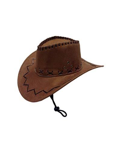 1fab4a94d7b87 DISBACANAL Sombrero Cowboy Lujo - Blanco  Amazon.es  Juguetes y juegos