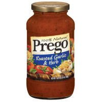 Prego Roasted Sauce (Prego 100% Natural Roasted Garlic & Herb Italian Sauce 24 oz)